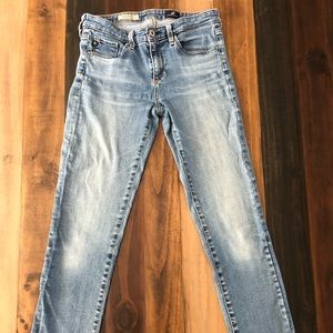 Adriano Goldschmeid Slim Straight Ankle Jeans
